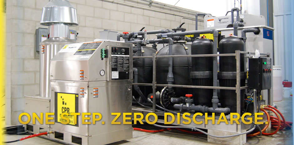 CPR SYSTEM Metal Pretreatment With Recycling Banner Image